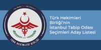 Türk Hekimleri Birliği Aday Listesi
