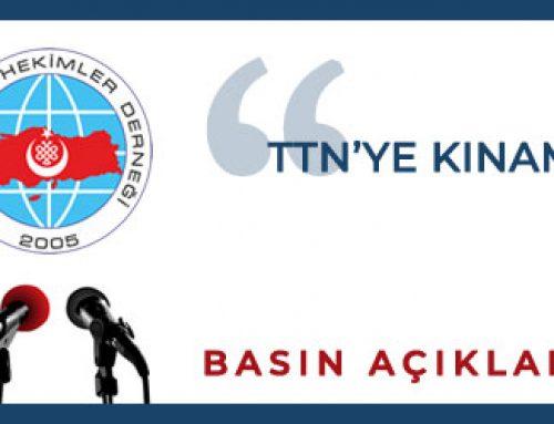 TTB'ye Kınama